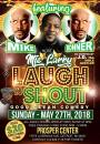 Laugh N Shout – Good Clean comedy hosted by Mic Larry wsg @MikeBonner2010 May 27th $20 #Detroit